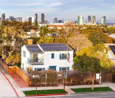 Coronado CA Single Family Home For Sale: $1,395,000