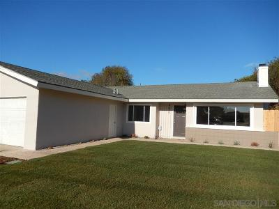 Single Family Home For Sale: 4670 Mount Longs Dr