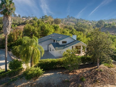 Fallbrook Single Family Home For Sale: 1560 Vista Del Lago