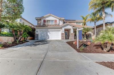 Chula Vista Single Family Home For Sale: 2557 Oak Springs Dr.