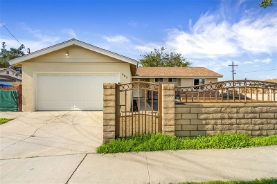 San Diego Single Family Home For Sale: 662 San Vicente Way