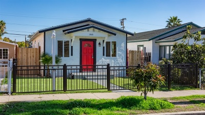 San Diego Multi Family 2-4 For Sale: 3545-47 Cherokee Ave