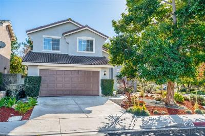 San Diego CA Single Family Home For Sale: $820,000