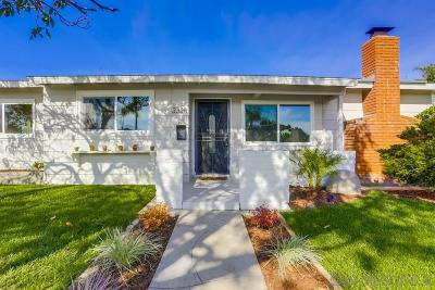 Bay Park, Bay Ho Single Family Home For Sale: 3328 Hopi Pl