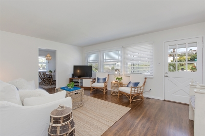 La Jolla Single Family Home For Sale: 835 Midway Street