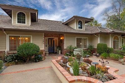 Fallbrook Single Family Home For Sale: 1059 Schuller Ln.