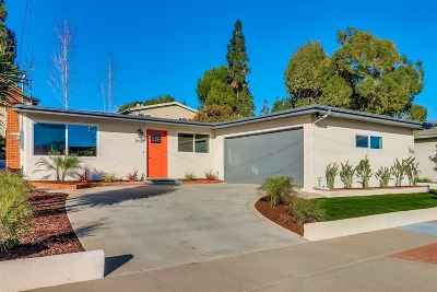 San Diego Single Family Home For Sale: 7950 Canary Way