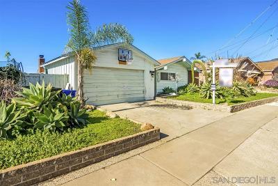 Single Family Home For Sale: 3074 Lloyd St