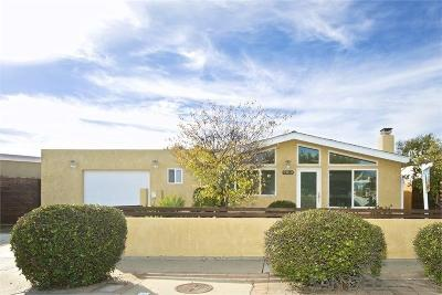 San Diego Single Family Home For Sale: 2812 Walker