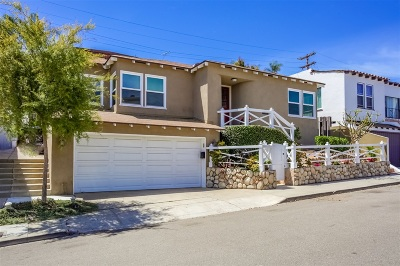 San Diego Single Family Home For Sale: 3624 Wilshire Terrace