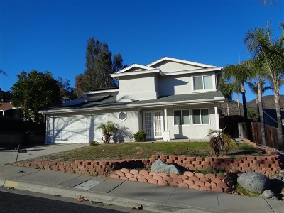 Santee Single Family Home For Sale: 10102 Wycliffe St