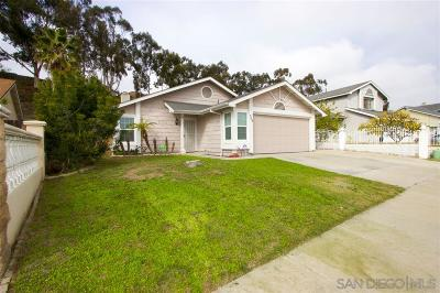 San Diego Single Family Home For Sale: 554 S Radio Dr