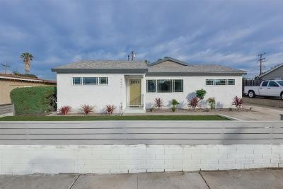 San Diego Single Family Home For Sale: 4049 Epanow