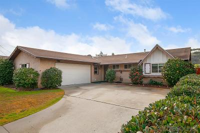 San Diego Single Family Home For Sale: 5101 Georgetown Ave.