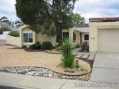 San Diego Single Family Home For Sale: 10848 Valiente Court