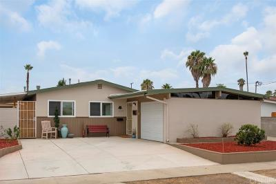 Clairemont, Clairemont East, Clairemont Mesa, Clairemont Mesa East Single Family Home For Sale: 5233 Javier St