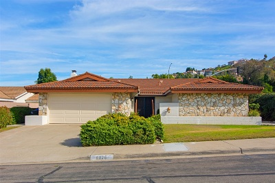 San Diego Single Family Home For Sale: 6026 Bounty St