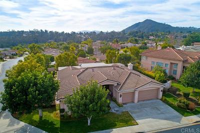 Escondido Single Family Home For Sale: 189 Camino Del Postigo