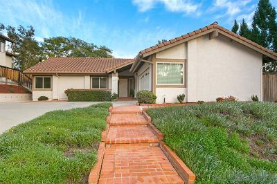 Single Family Home For Sale: 10265 Mesa Madera Drive