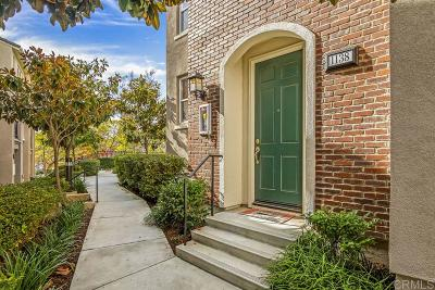 San Marcos Townhouse For Sale: 1138 Elfin Forest Rd W