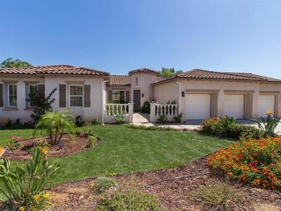 Fallbrook Single Family Home For Sale: 1207 Firecrest Way