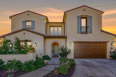 San Diego Single Family Home For Sale: 15899 Wadsworth Place