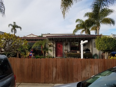 San Diego Multi Family 2-4 For Sale: 3746 Ingraham St