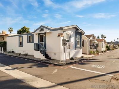 Poway Mobile/Manufactured For Sale: 14093 Pomegranate Ave #216