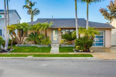 Bay Park, Bay Ho Single Family Home For Sale: 4976 Arroyo Lindo Ave