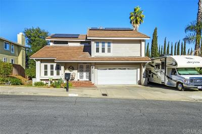 Escondido Single Family Home For Sale: 350 Rock Ridge Pl