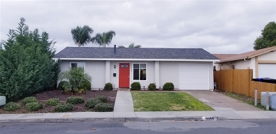 San Diego Single Family Home For Sale: 8654 Friant Street