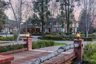 Rancho Santa Fe Single Family Home For Sale: 16620 Rambla De Las Flores