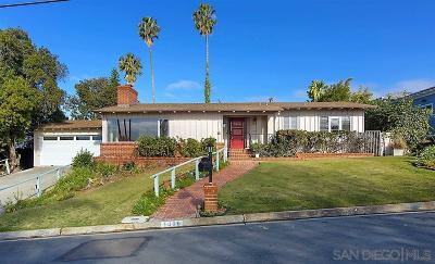 La Jolla CA Single Family Home For Sale: $1,795,000