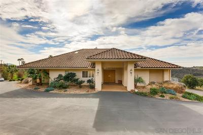 Valley Center Single Family Home For Sale: 32503 Couser Canyon Rd