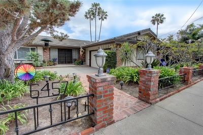 Del Cerro, Del Cerro Heights, Del Cerro Highlands, Del Cerro Terrace Single Family Home For Sale: 6457 Rancho Park