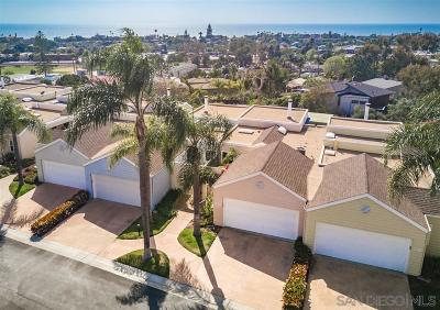 Encinitas Townhouse For Sale: 534 Orpheus Avenue
