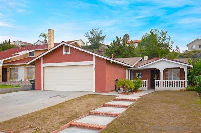 San Diego Single Family Home For Sale: 7443 Gayneswood Way