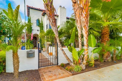 Coronado Single Family Home For Sale: 258 H Avenue