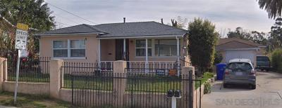 San Diego Multi Family 2-4 Pending: 723-725 65th St