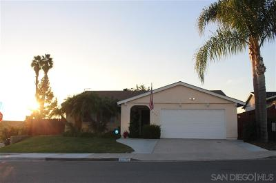 San Diego Single Family Home For Sale: 936 Desty St.