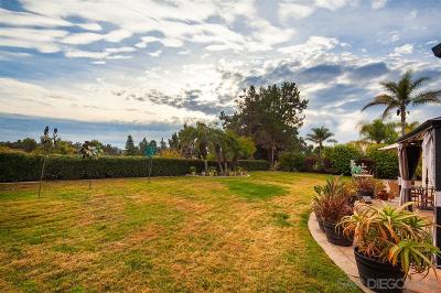 Oceanside Single Family Home For Sale: 5829 Ranch View Rd