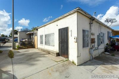 San Diego Multi Family 2-4 For Sale: 4228-32 Ocean View Blvd