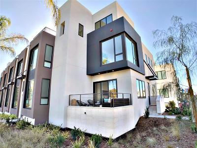 Bankers Hill Townhouse For Sale: 555 Hawthorn St