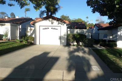 San Diego County Single Family Home For Sale: 1789 Woodbrook Lane