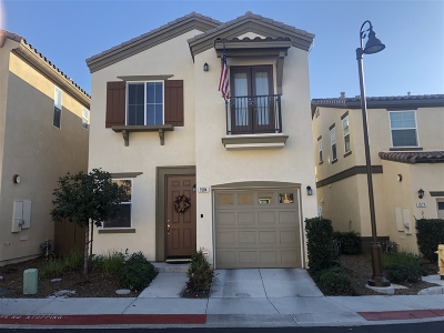 Chula Vista Single Family Home For Sale: 1584 Calle De La Flor