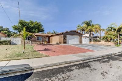 Chula Vista Single Family Home For Sale: 1616 Marl
