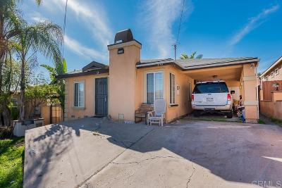 San Diego Single Family Home For Sale: 642 Iona Dr