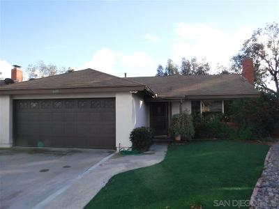 Single Family Home For Sale: 6475 Canyon Vista Ct