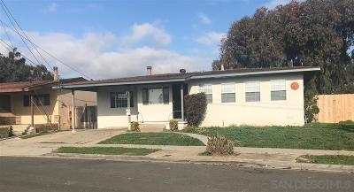 San Diego Single Family Home For Sale: 3897 Tomahawk Ln.