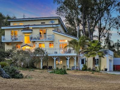 Single Family Home For Sale: 9237 Harmony Grove